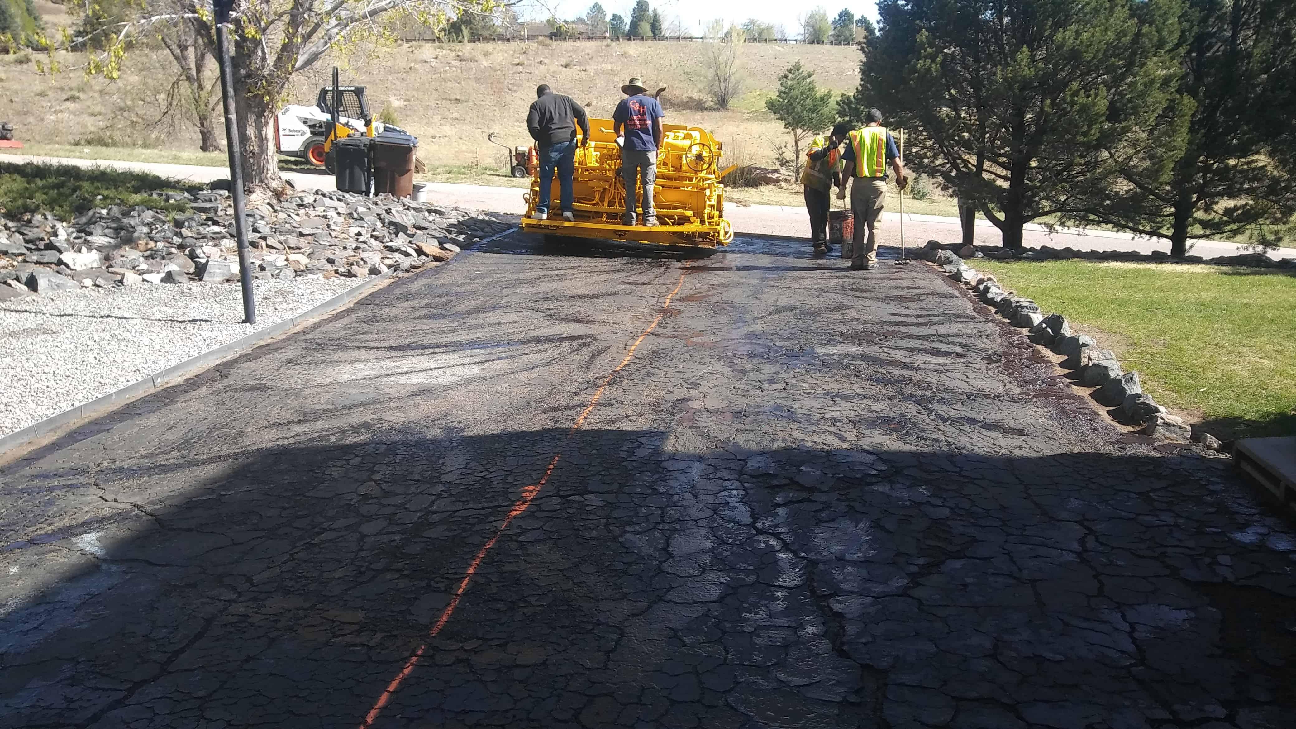 asphalt maintenance colorado springs
