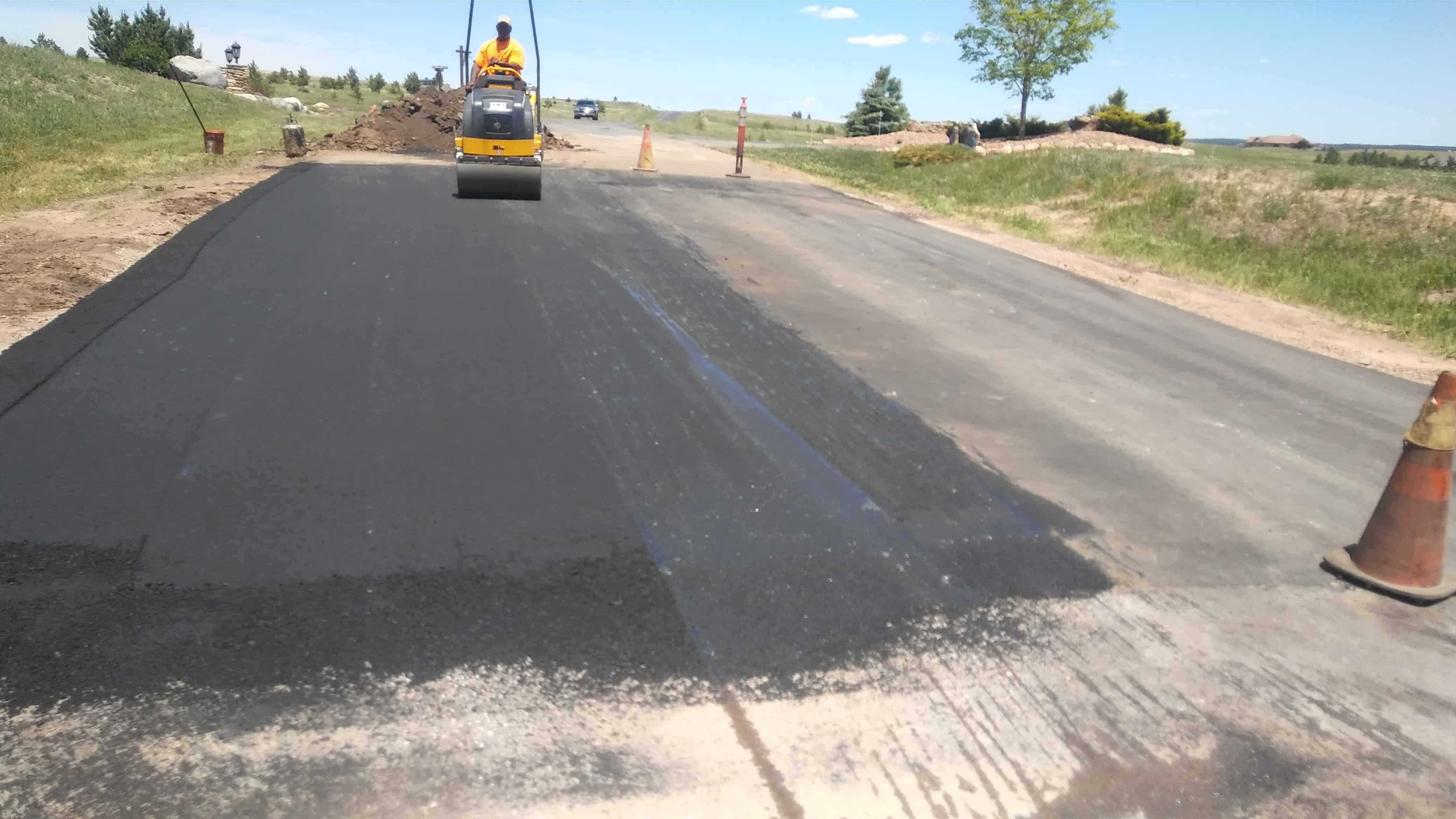 concrete driveway repair colorado