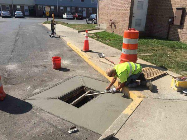 colorado springs curb gutter repair
